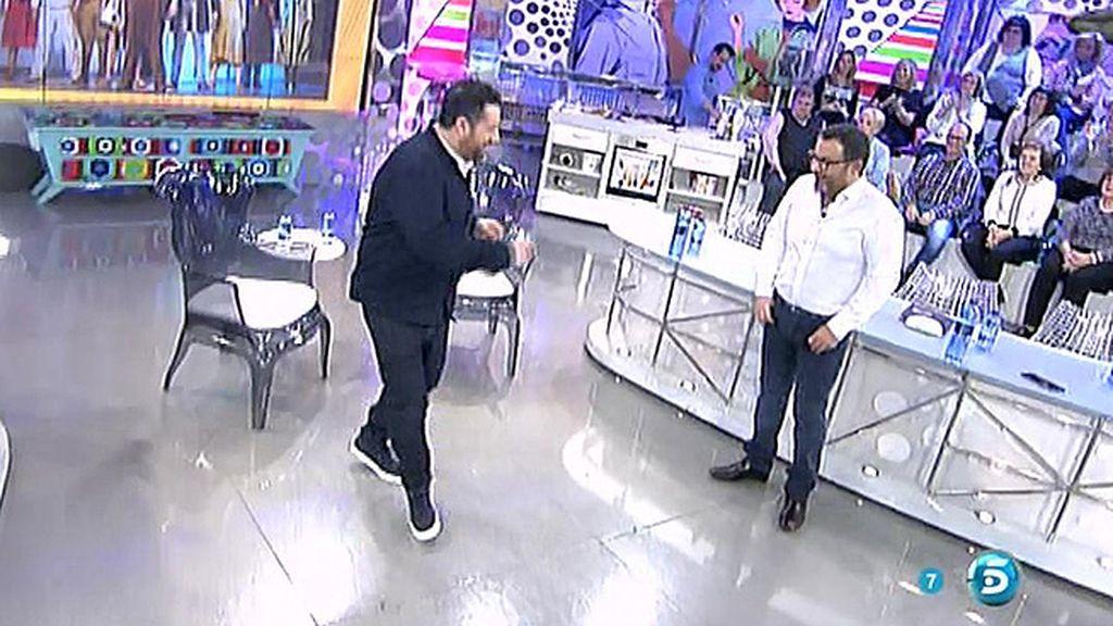 El paso de baile de Pepón Nieto