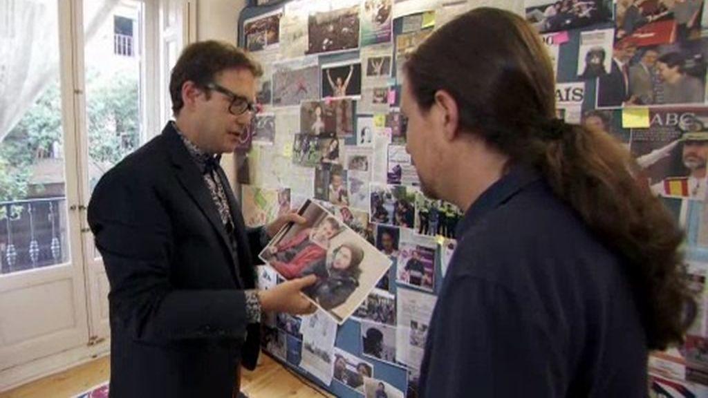 """Pablo Iglesias viendo una foto con Errejón: """"Nos hemos hecho mayores"""""""