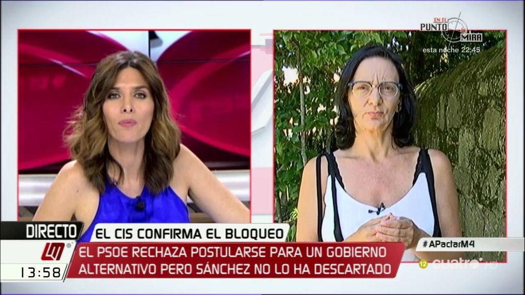 """Bescansa: """"Me temo que la vía de acuerdo con Ciudadanos es una vía muerta"""""""