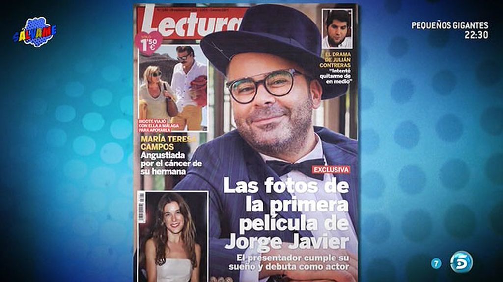 """J.J. protagoniza la portada de 'Lecturas: """"He cumplido mi sueño de ser actor"""""""