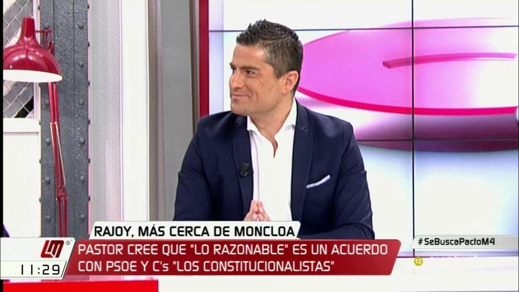 """Alfonso Merlos: """"El presidente, de forma confidencial, está haciendo lo que puede para la abstención del PSOE"""""""