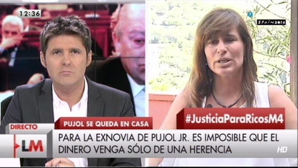 """Victoria Álvarez, ex de Pujol: """"La cantidad defraudada supera los 2.000 millones"""""""