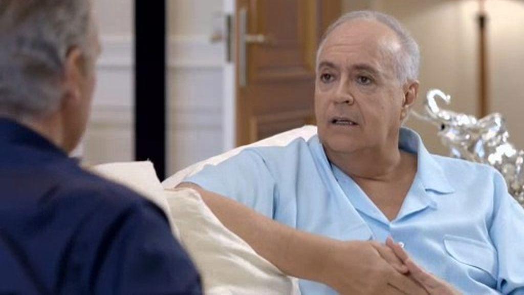 """José Luis Moreno, sobre su primer desamor: """"Caí en la anorexia y dejé de cantar"""""""