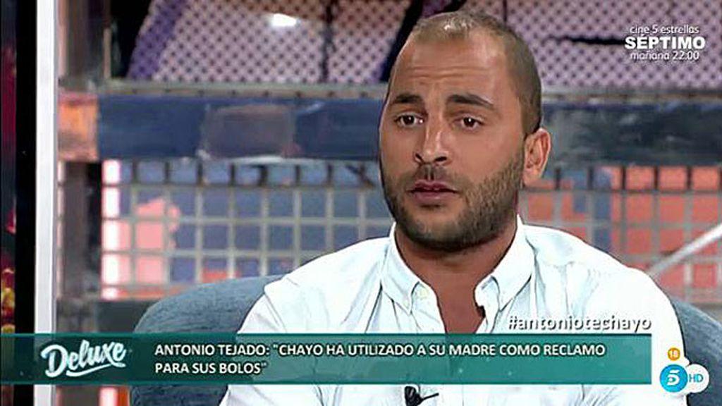"""Antonio Tejado: """"No creo que Chayo Mohedano esté siendo justa con su madre"""""""