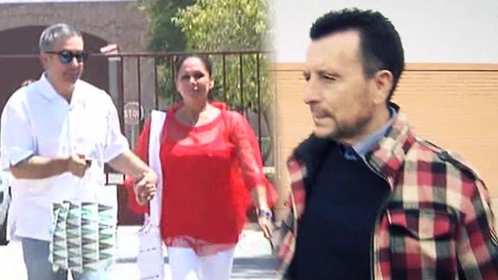 José Ortega Cano e Isabel Pantoja, dos salidas de prisión muy diferentes