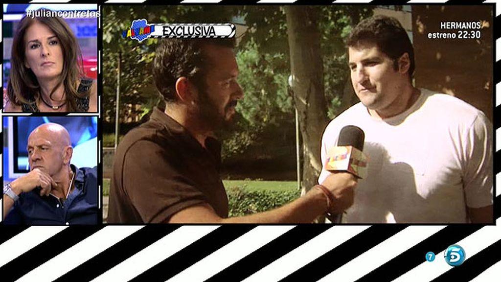 Julián Contreras Jr. niega que su padre tenga algo que ver en su ruina económica