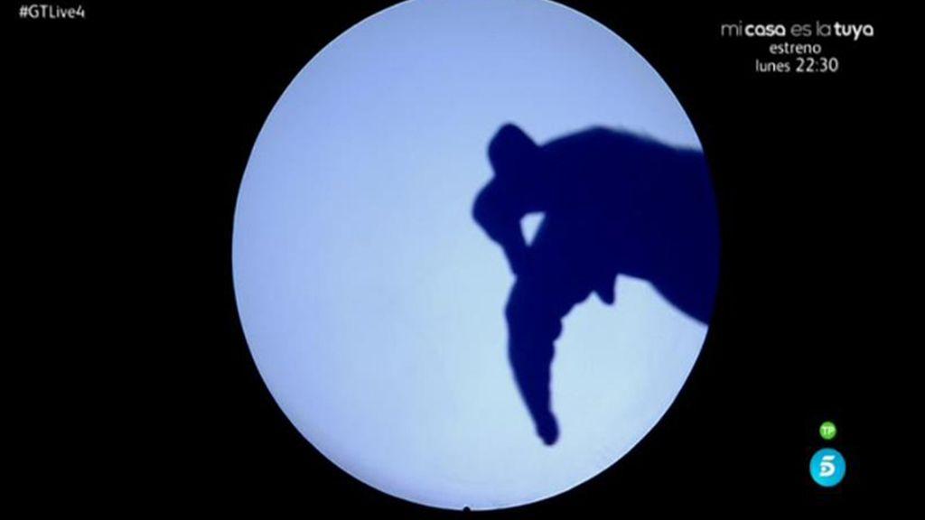 Rafa Piccola, el sombrómano de 'Got Talent', cuenta historias solo con sus manos