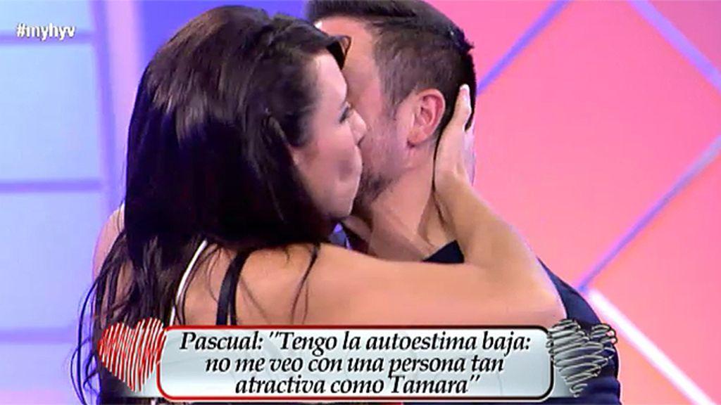 """Pascual: """"Miro a Tamara y siento la necesidad de protegerla"""""""