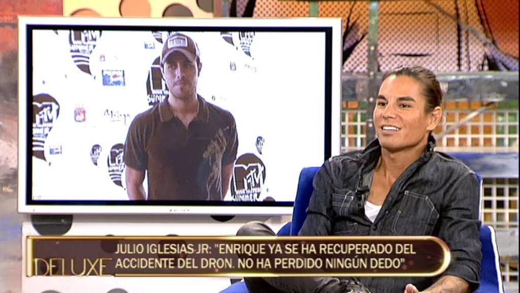 """Julio Iglesias Jr: """"No hay celos profesionales entre mi hermano Enrique y mi padre"""""""