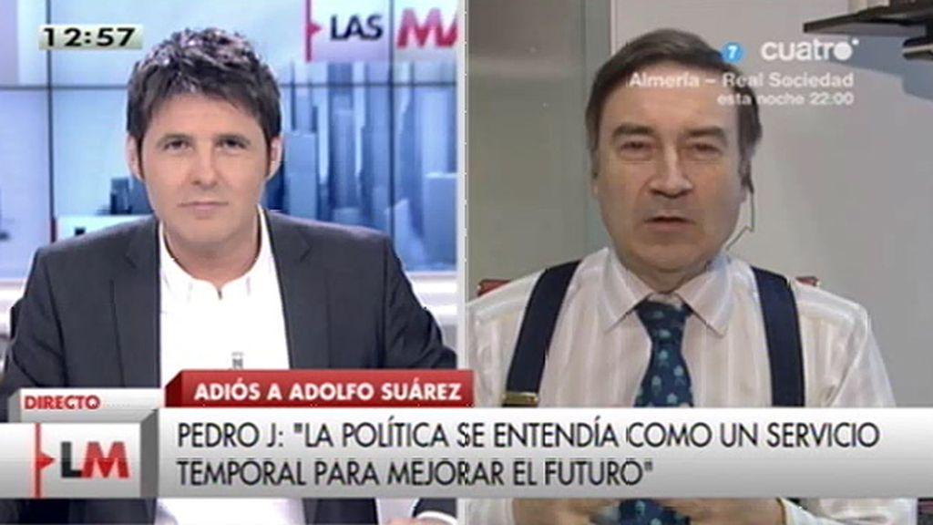 La entrevista a Pedro J., online