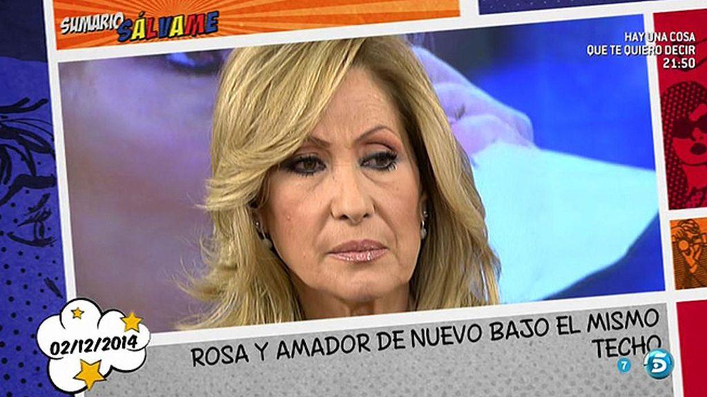 Rosa Benito no teme el reencuentro con Amador Mohedano en Telecinco...