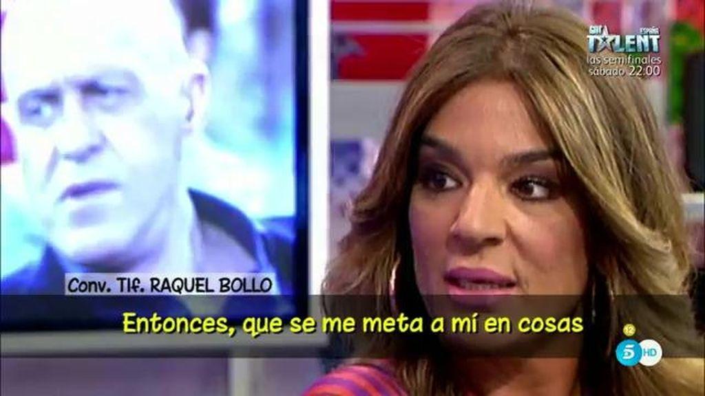 """R. Bollo: """"No tengo por qué saber los temas de I. Pantoja porque no estoy a su lado"""""""