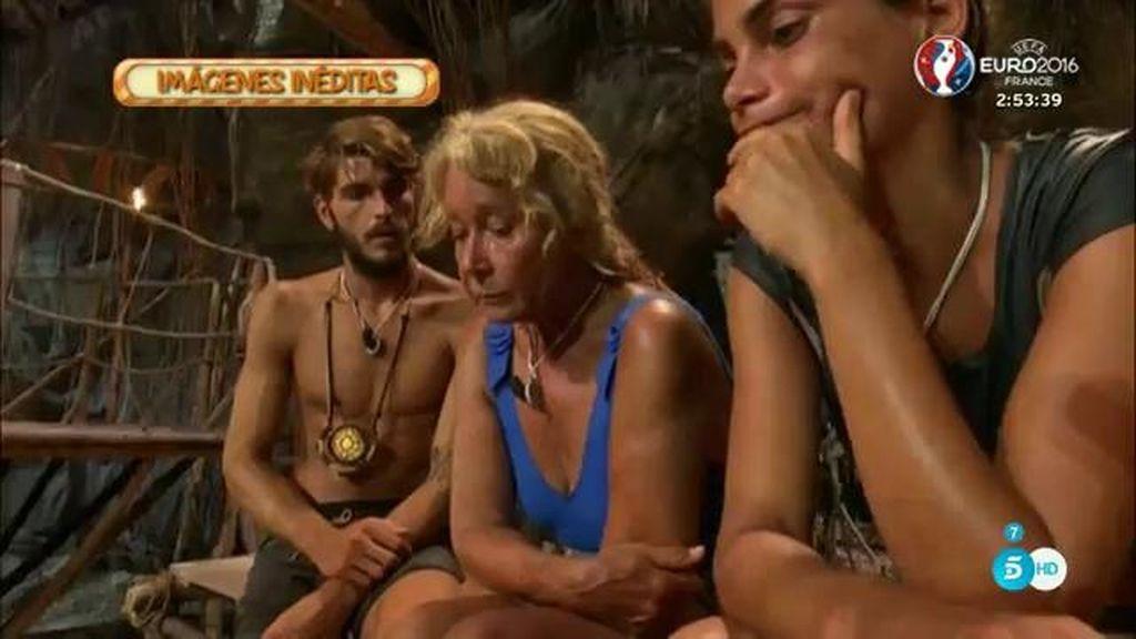 Imágenes inéditas: Las lágrimas de Mila Ximénez tras la expulsión de Dulce