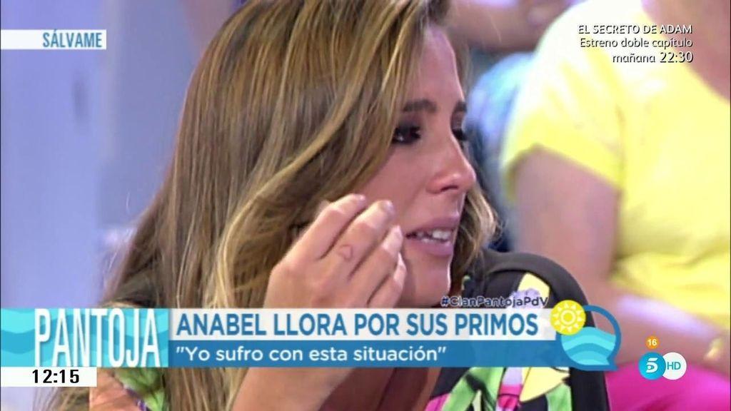 """Anabel, muy apenada: """"Mi tía merece que volvamos a ser felices. Sufre mucho"""""""