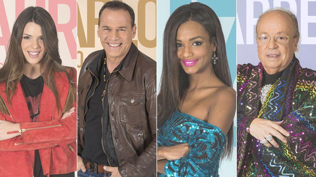 Laura, Carlos, Liz y Rappel, nominados