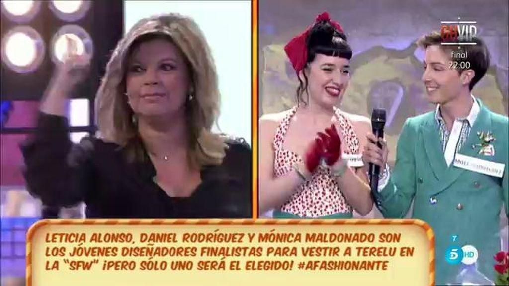 Terelu se convertirá en una 'Jackie Kennedy' con el diseño de Leticia y Daniel