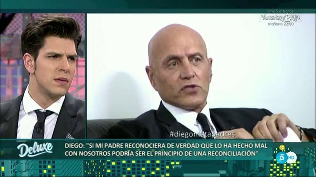 Kiko Matamoros se defiende de las acusaciones de su hijo Diego