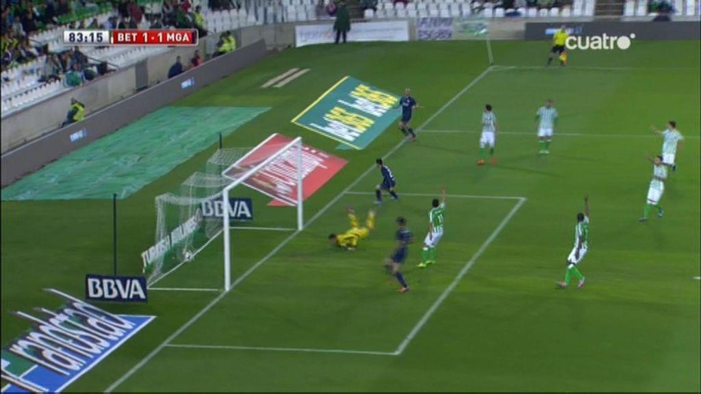 Gol de Juanmi (Betis 1-1 Málaga)