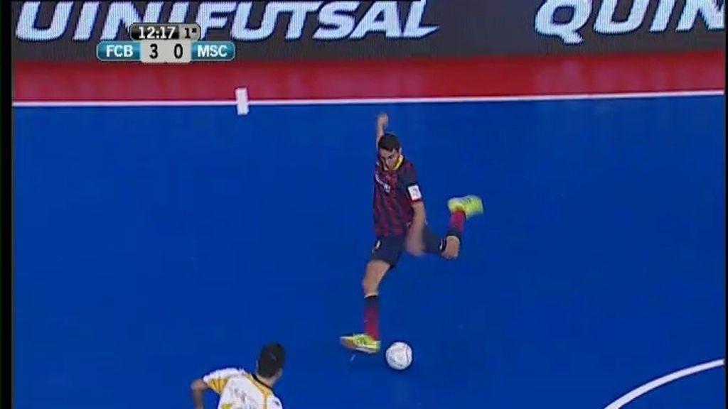 Gol de Aicardo(Barça 3-0 Marfil)