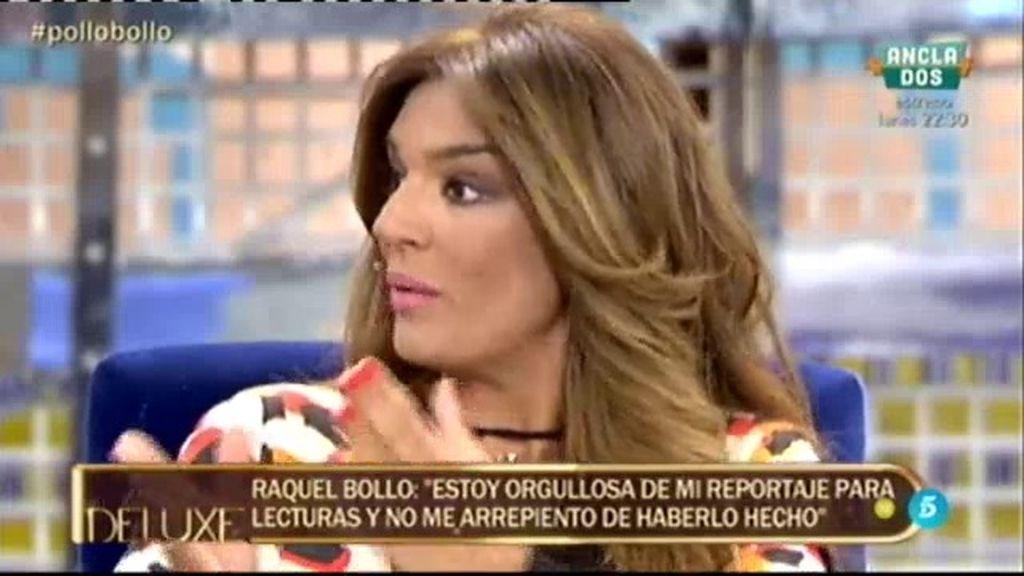 """Raquel Bollo: """"Hice la entrevista con mis hijos porque me parecía algo muy bonito"""""""