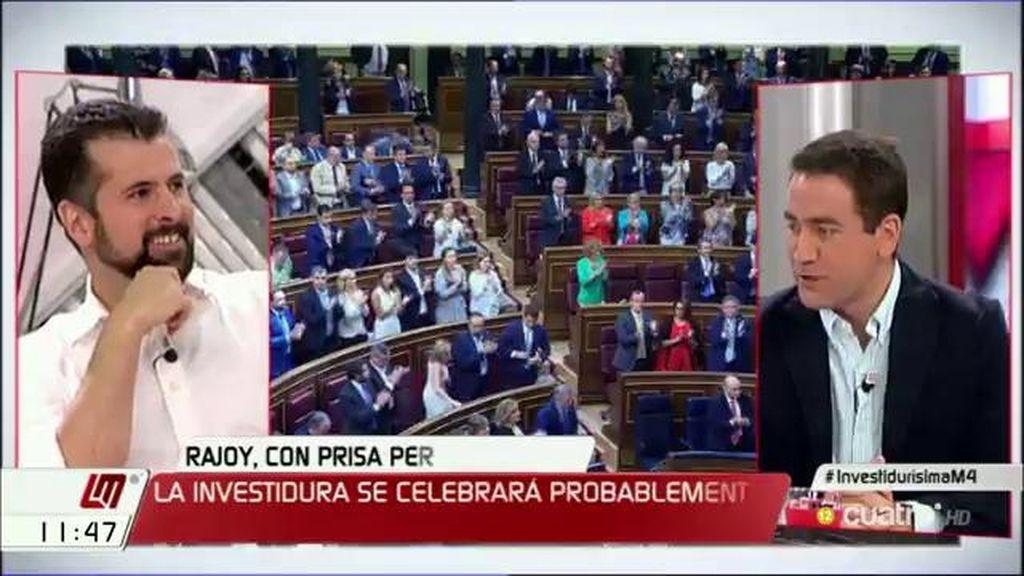 """Luis Tudanca: """"Que la responsabilidad de dar una mayoría a la fuerza política más votada sea del principal partido de la oposición"""""""