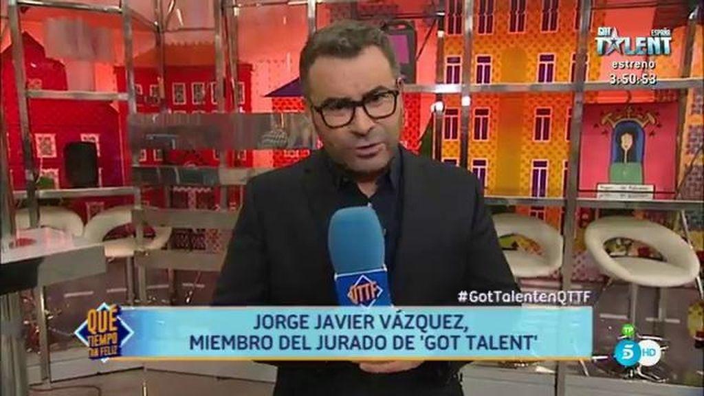 """Jorge, sobre sus compañeros en 'Got Talent': """"Nos hemos reído y emocionado juntos"""""""