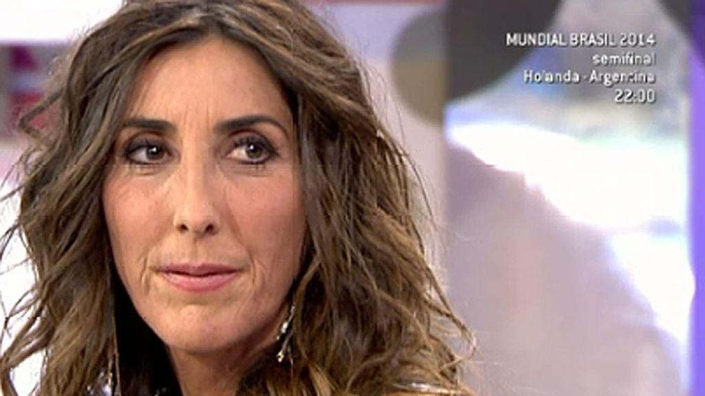 """Paz Padilla se sincera: """"A mí, Telecinco me está ayudando, a mí y a toda mi gente"""""""