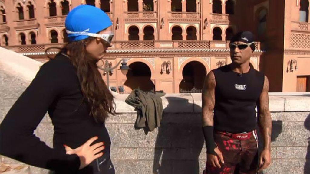 Osmin le pide a Cristina que se convierta en su entrenadora personal por un día