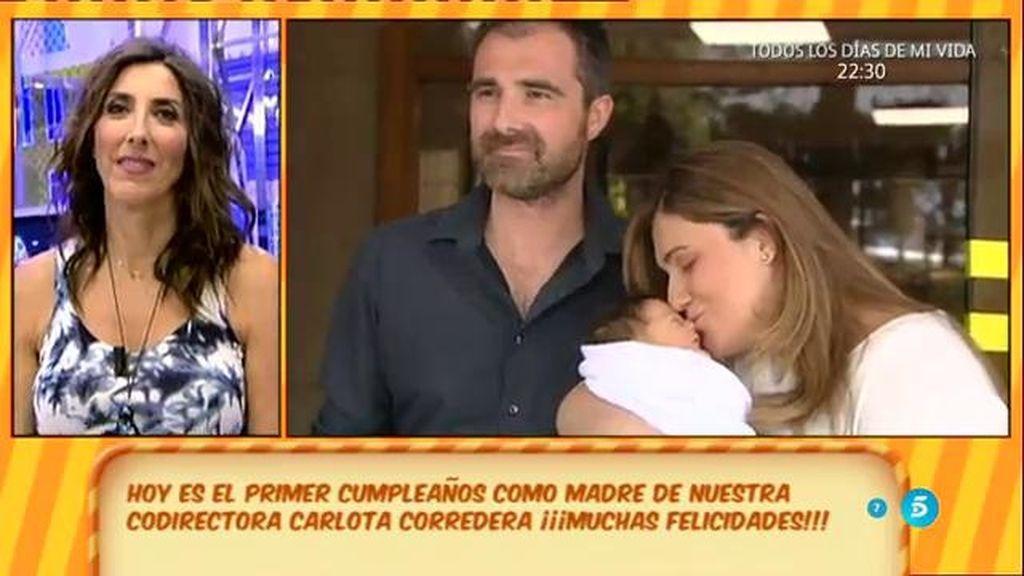 ¡'Sálvame' felicita a Carlota Corredera por su cumpleaños!