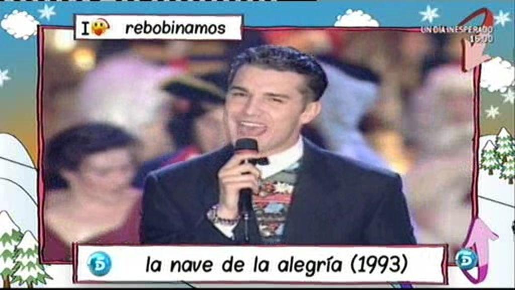 Jesús Vázquez canta 'Oliver y Benji'