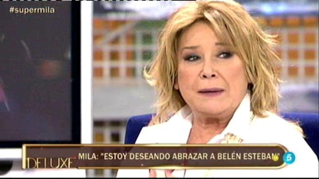 """Mila Ximénez: """"El tema de Belén por mi parte está zanjado, estoy deseando verla"""""""