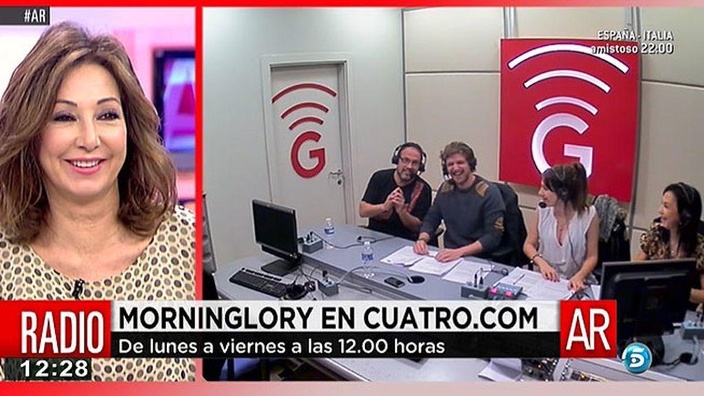 'AR' se cuela en directo en 'MorninGlory'