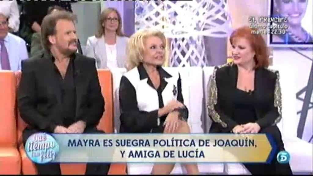 Mayra Gómez Kemp sorprende a Pimpinela