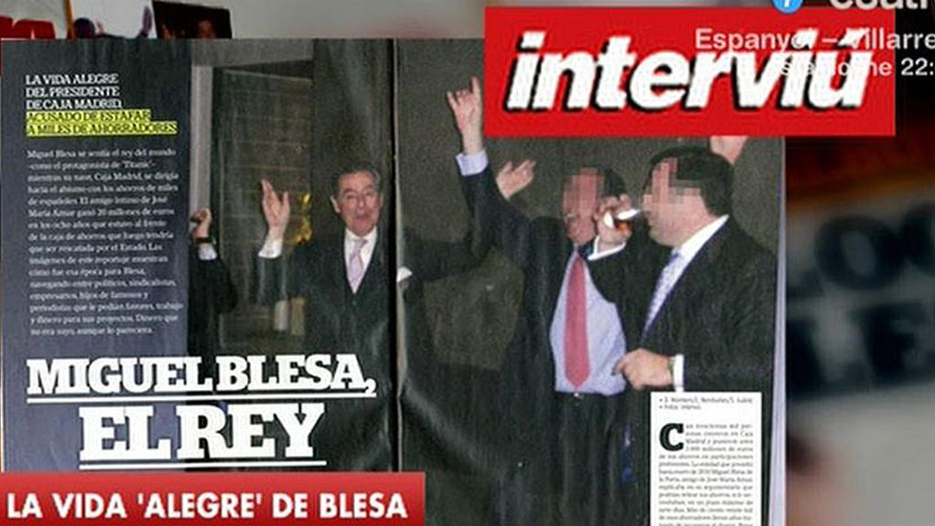 Las fotos más polémicas de Blesa