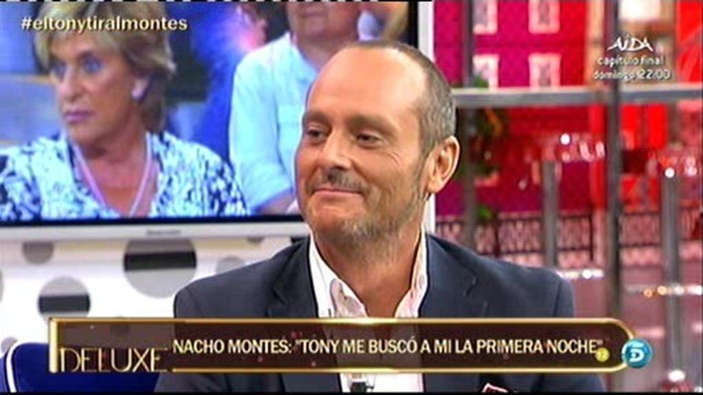 """Nacho Montes: """"Tony Spina es muy juguetón. Si no, no me habría enganchado tanto a él"""""""