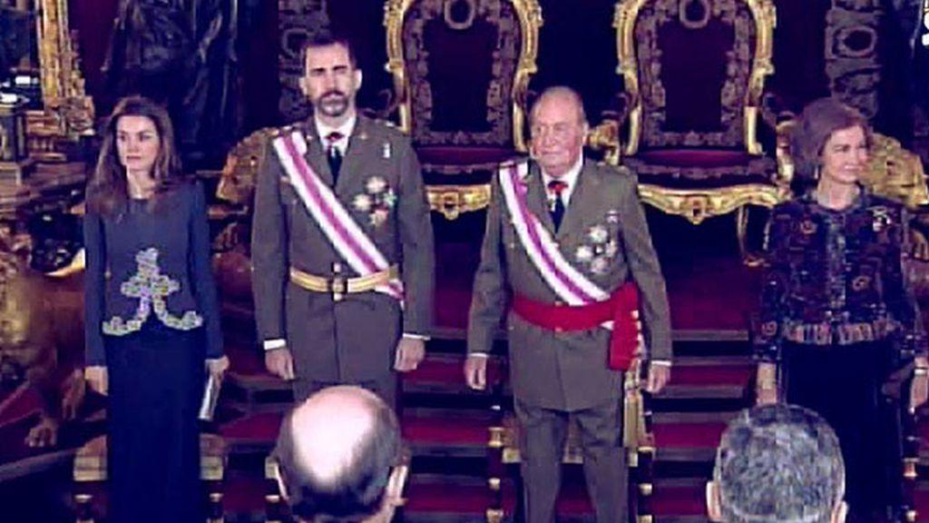 Don Juan Carlos y Don Felipe, el presente y el futuro de la monarquía española