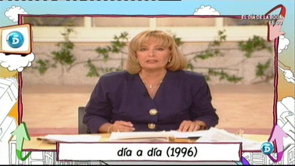 Los inicios en Telecinco de Teresa Campos