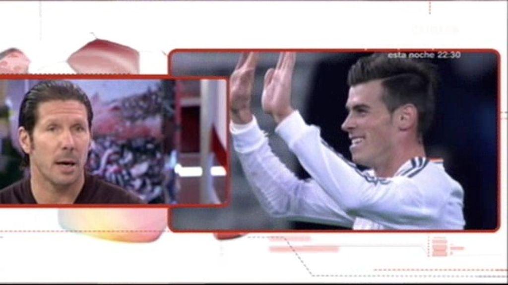 """Simeone: """"El Barça juega junto hace mucho tiempo, el Madrid es más individualista"""""""
