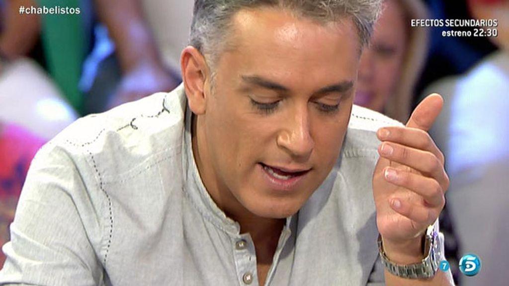 """Kiko H.: """"Chabelita le tiene pánico a Alberto"""""""