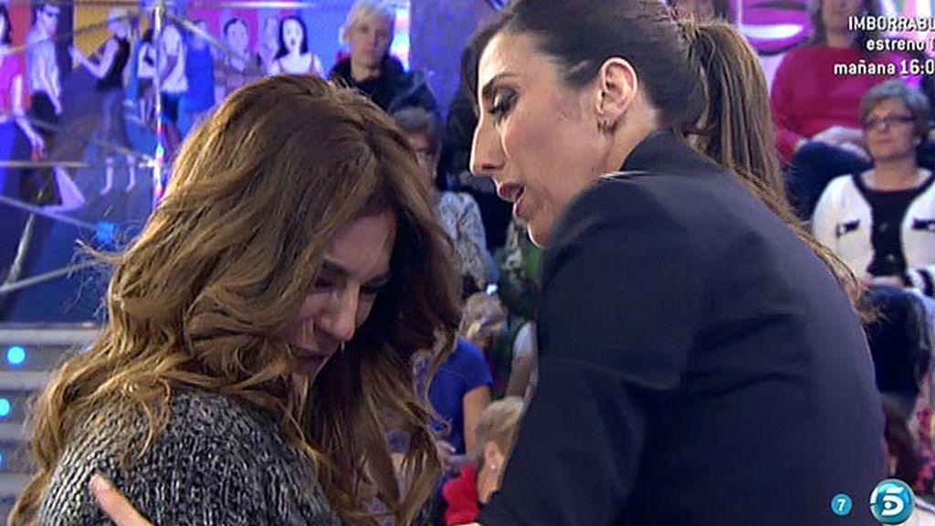 Raquel Bollo se derrumba