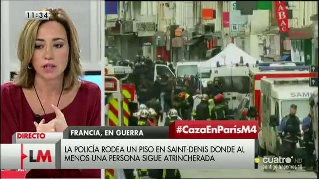 """Carme Chacón: """"Quiero poner en valor el trabajo y la cautela de las fuerzas francesas"""""""