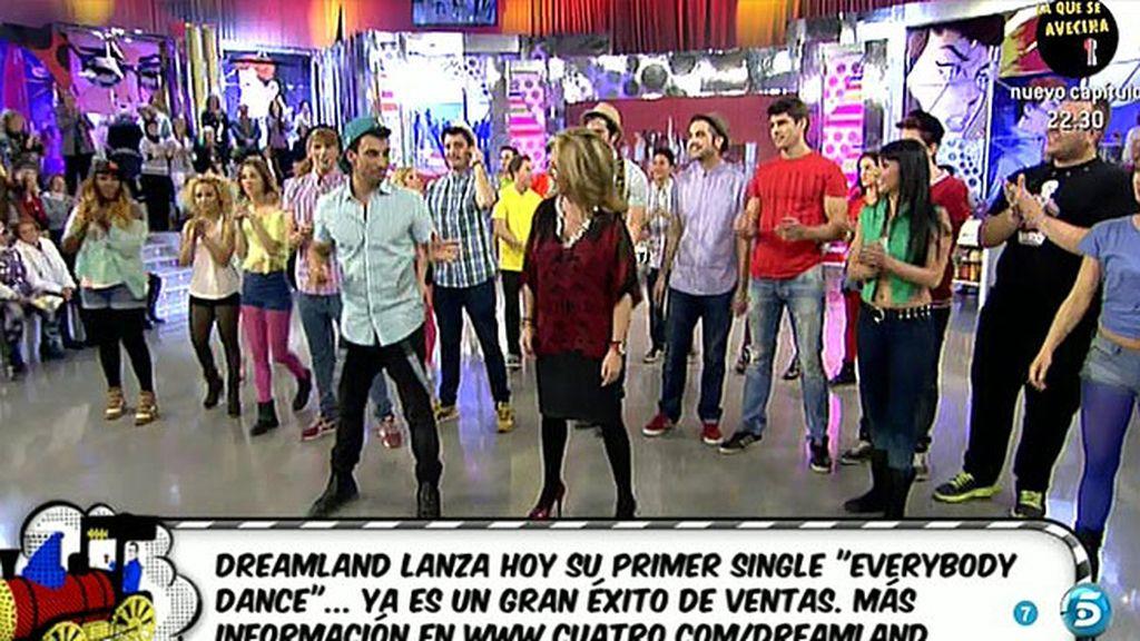 'Sálvame' baila con 'Dreamland'
