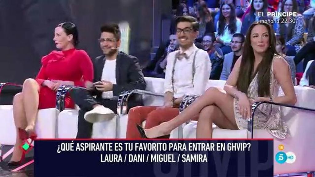 Laura Campos, Miguel Frigenti, Dani Santos y Samira… ¡Los aspirantes a concursantes!