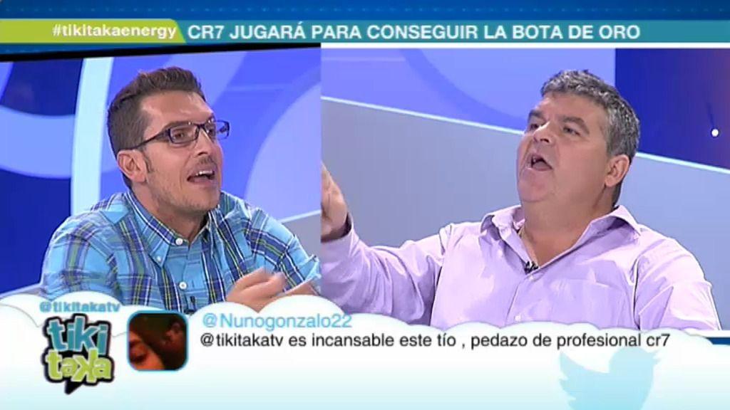 """Látigo : """"Cristiano es un activo del Madrid y no deberían dejarle jugar contra el Espanyol"""""""