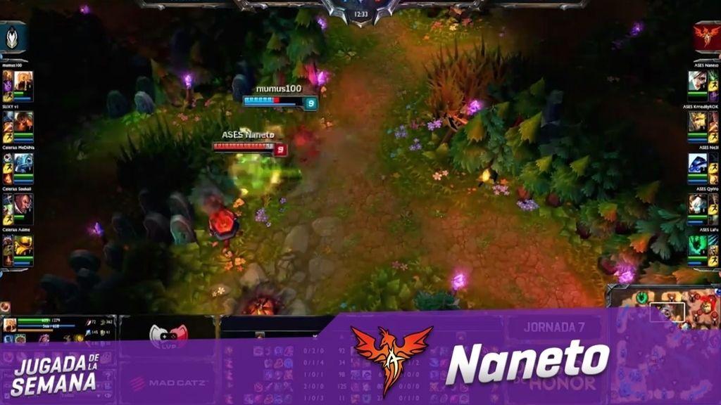 El jugadón de 'Naneto' en una persecución por La Grieta del Invocador