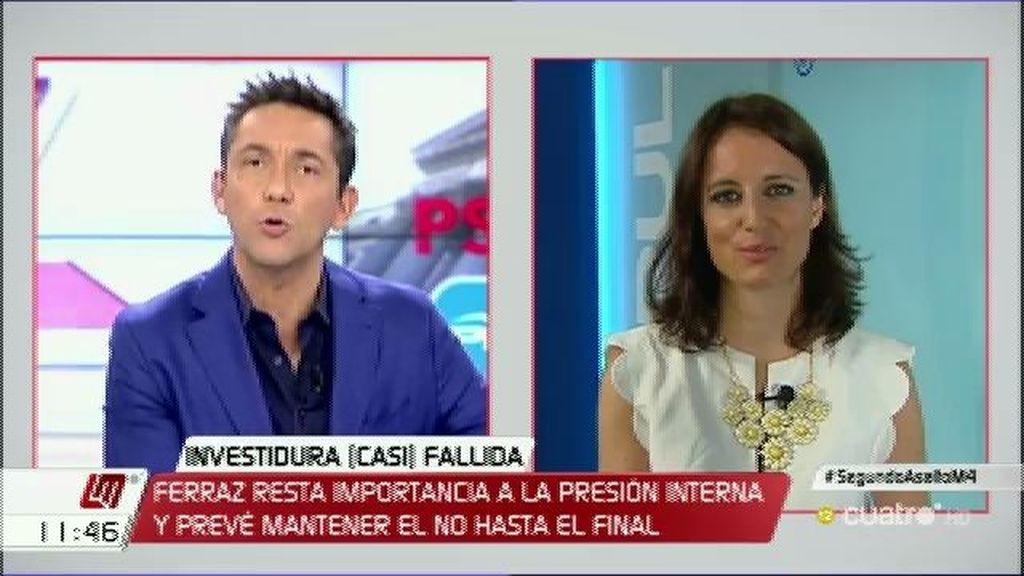 """Levy: """"Igual Sánchez e Iglesias se han echado tanto de menos que lo van a intentar"""""""