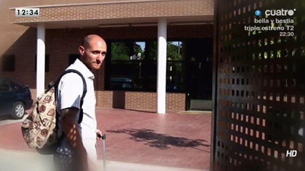Carlos, sindicalista acusado de coacción en un piquete informativo, entra en prisión