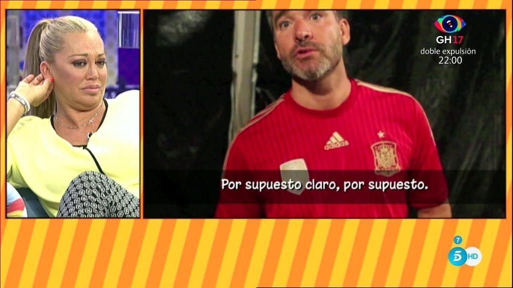 """Belén Esteban y Kiko Hernández responden a Toño: """"¿A qué estás jugando?"""""""