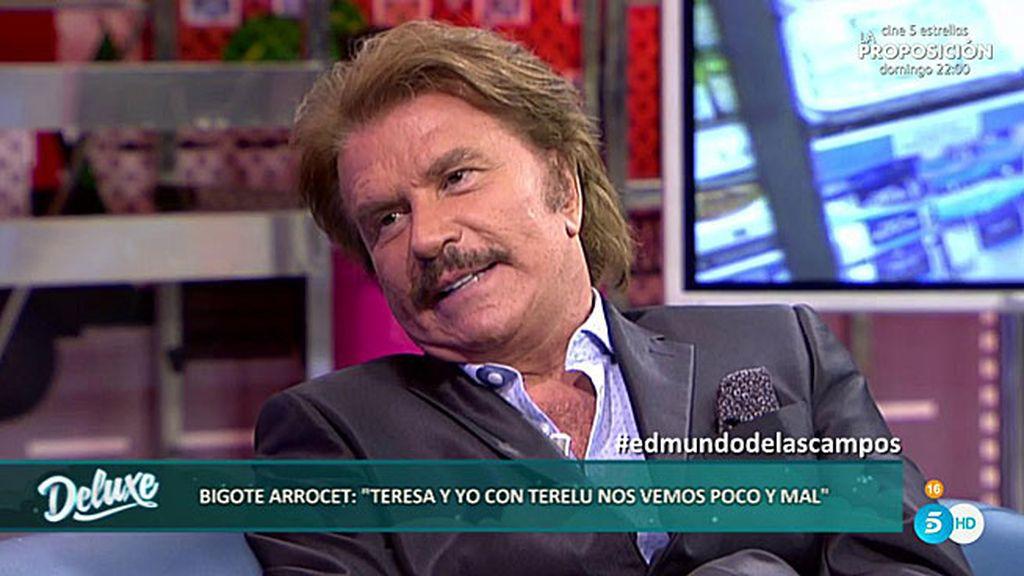 """Edmundo: """"Es culpa mía que Teresa vea menos a sus hijas, a mí no me gusta salir"""""""