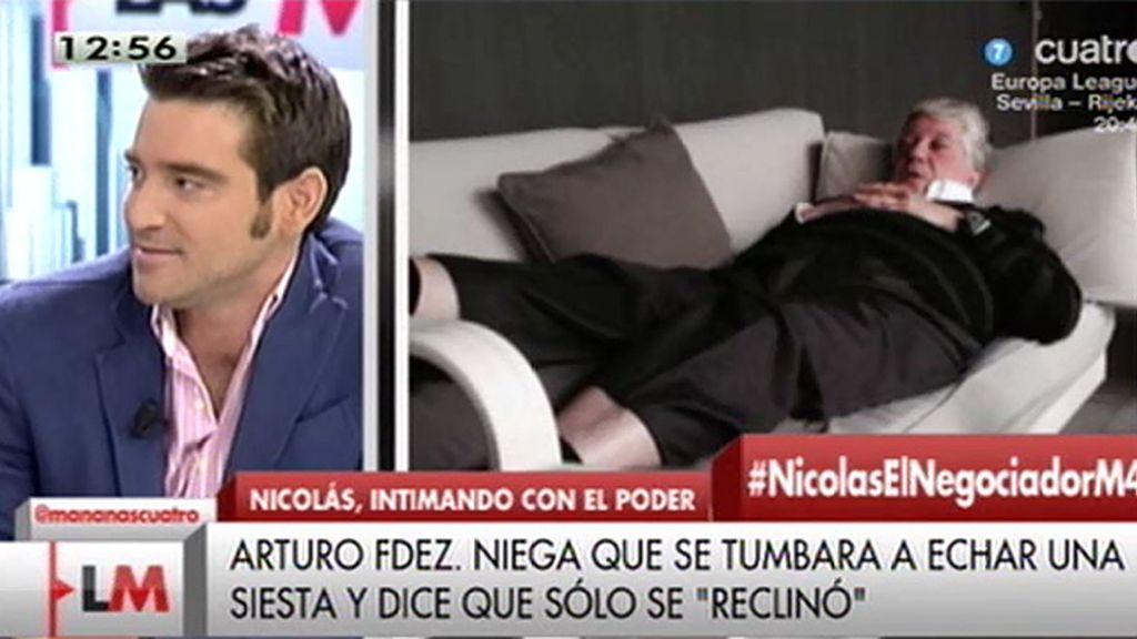 """Javier Negre: """"Hay otra foto más comprometida de Arturo Fernández"""""""